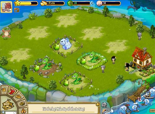 Firebat Studio trình làng Đảo Rồng trên Zing Me