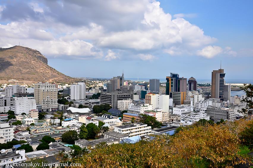 Порт Луи - столица Маврикия