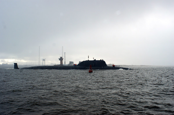 Russia's Project 885 Yasen-class attack submarine
