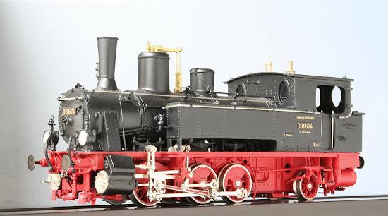Modeli parnih lokomotiva DRG 89002H-Lv