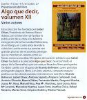Presentación del libro Algo que Decir XII, en el Corte Inglés de Valencia