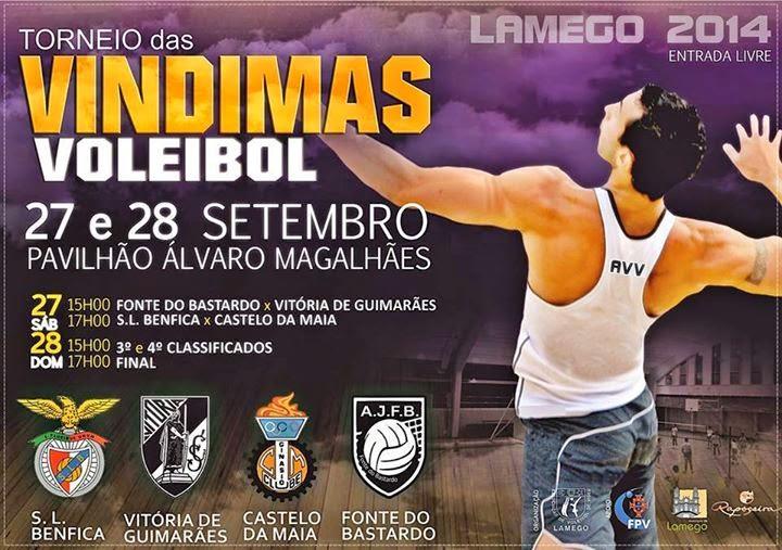 Torneio das Vindimas - Voleibol - 27 e 28 de Setembro - Lamego
