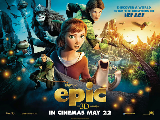 Το Μυστικό Βασίλειο του Δάσους Epic Movie Wallpaper