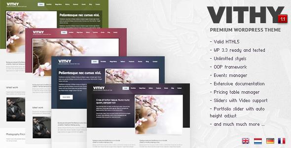 Themeforest Vithy - WordPress Portfolio Theme
