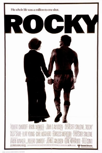 Poster Of Rocky (1976) Full Movie Hindi Dubbed Free Download Watch Online At Alldownloads4u.Com
