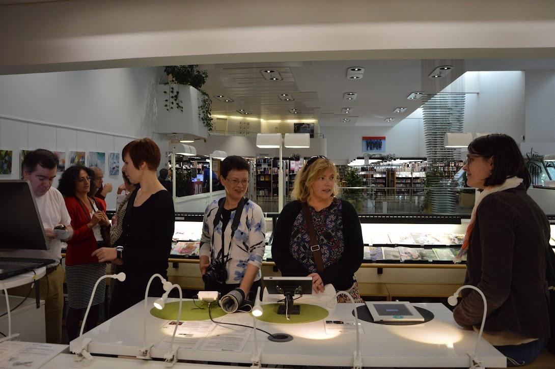 Knjižnica Vantaa, možnosti izposoje medicinskih pripomočkov