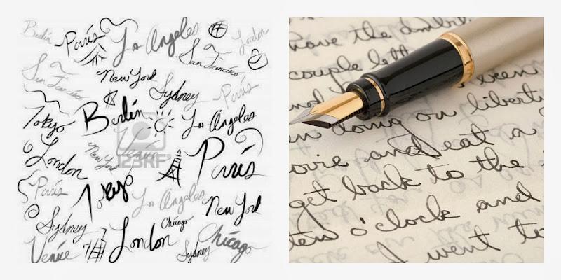 поздравление с днем почерка