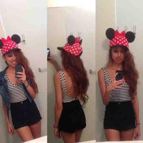 Minnie Mouse Santa Hat Disneyland Minnie Mouse Hat Disneyland