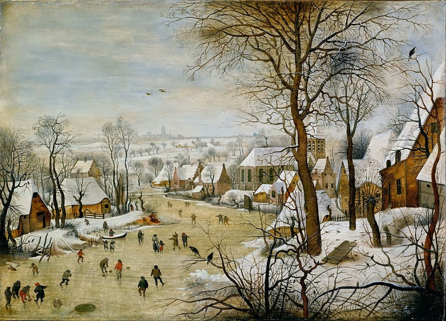 Pieter Brueghel the Younger - Winter Landscape with Bird Trap - Google Art Project