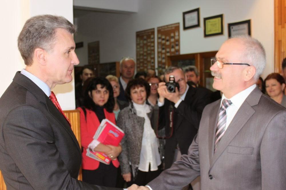 ASR Principele Radu - Vizită la  Colegiul Naţional Vasile Lucaciu Baia Mare