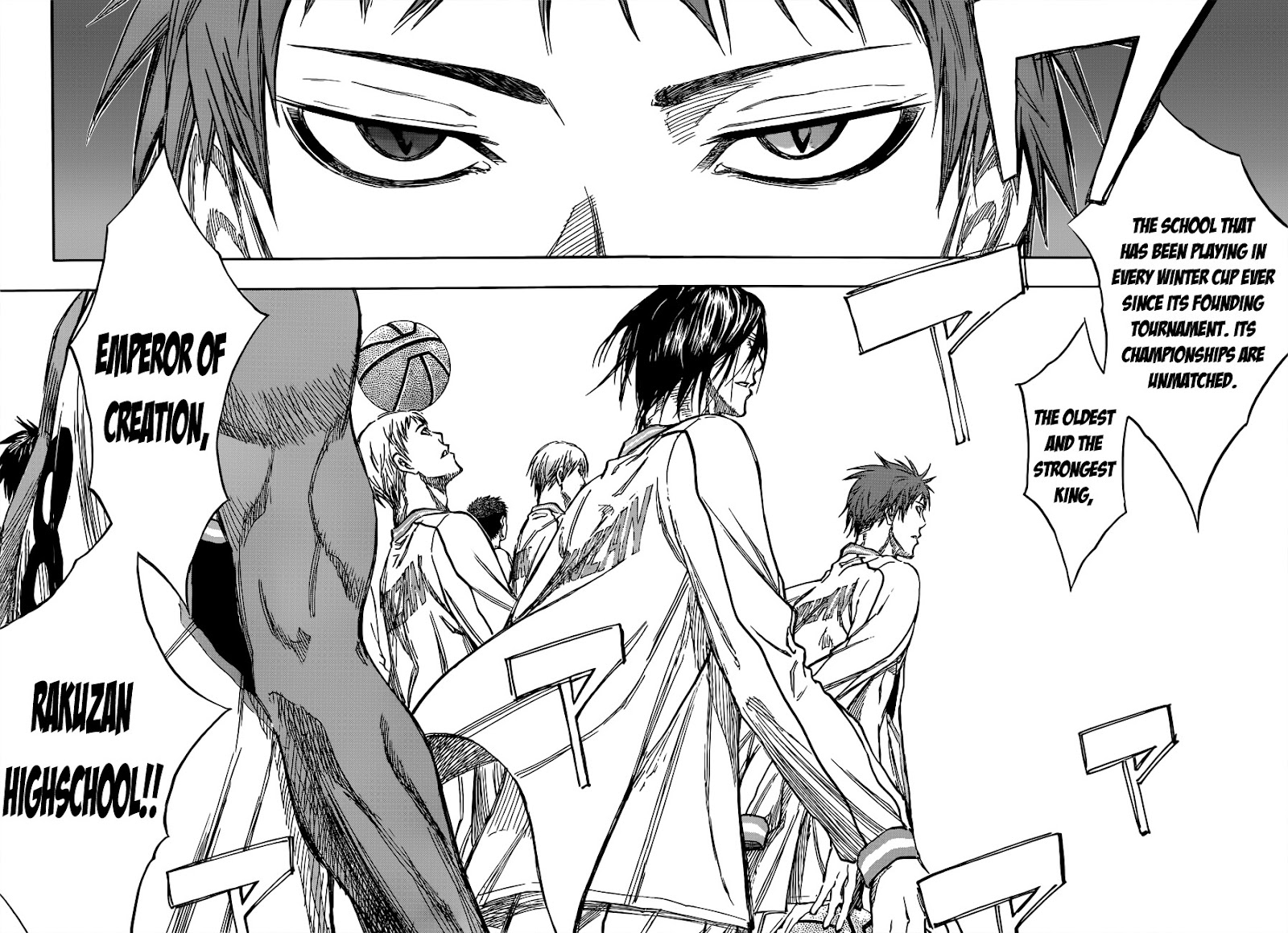 Kuroko no Basket Manga Chapter 175 - Image 06-07