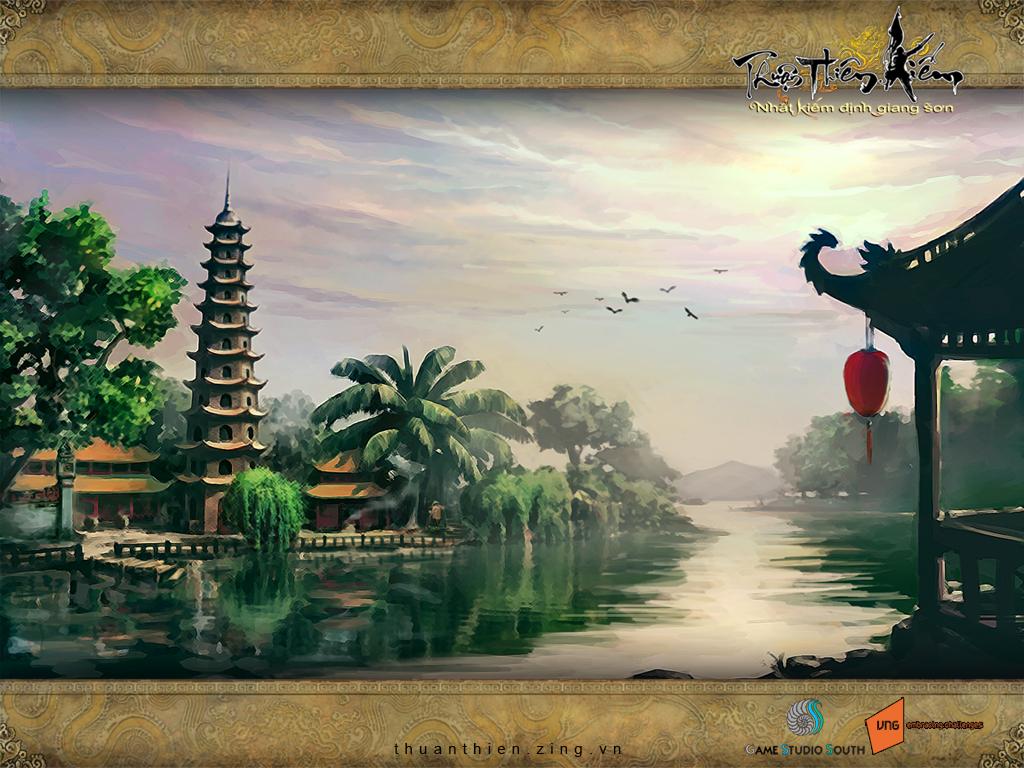 Hoài niệm với loạt hình nền của Thuận Thiên Kiếm