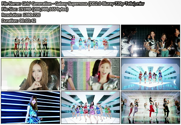 [PV] Girls Generation   Galaxy Supernova [Blu Ray 720p]