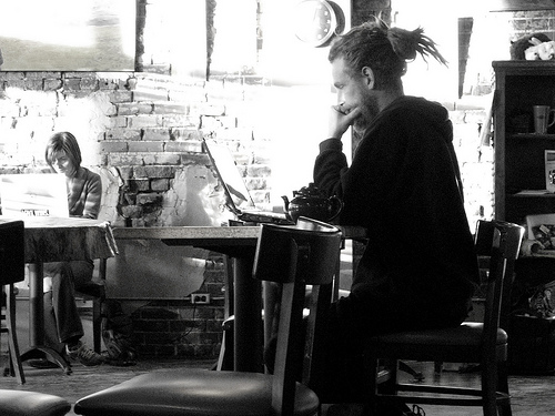 The Angsty Gay  Has social media ruined the coffee shop romance
