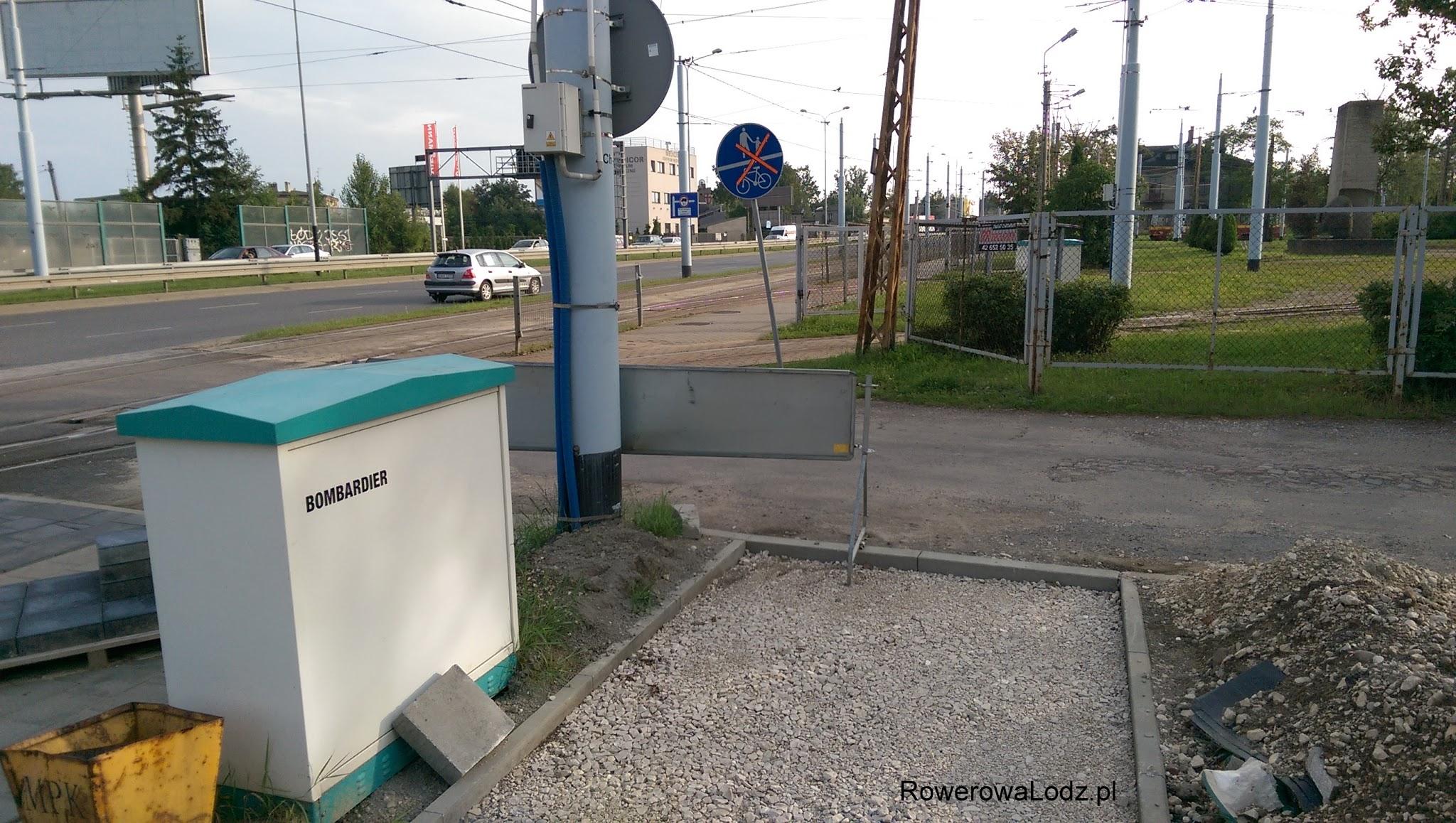 Zajezdnia Chocianowice to koniec modernizowanego odcinka.