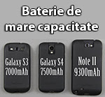 baterie de mare capacitate samsung galaxy s4 Baterie de 7500 mAh pentru Samsung Galaxy S4
