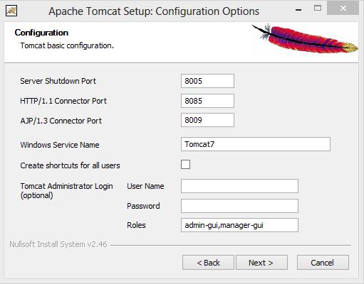 cara install dan konfigurasi manual apache tomcat