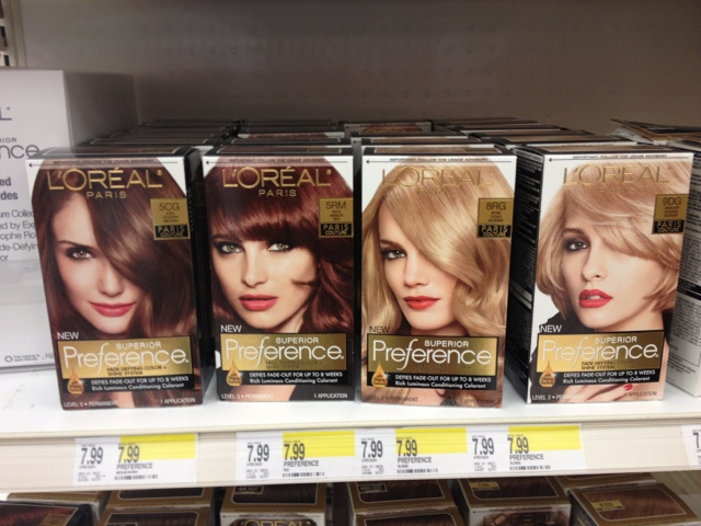 Beach Haven Beauty: L'Oreal Preference Paris Couture Hair Color 2013