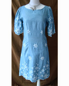 EMBROIDREY DRESS