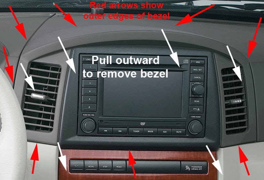 Installing An Aux Input Adapter In Your Wk Jeep Garage
