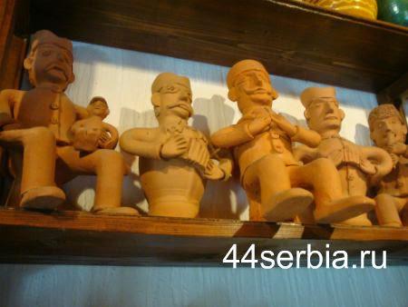 Музыканты керамика Сербия