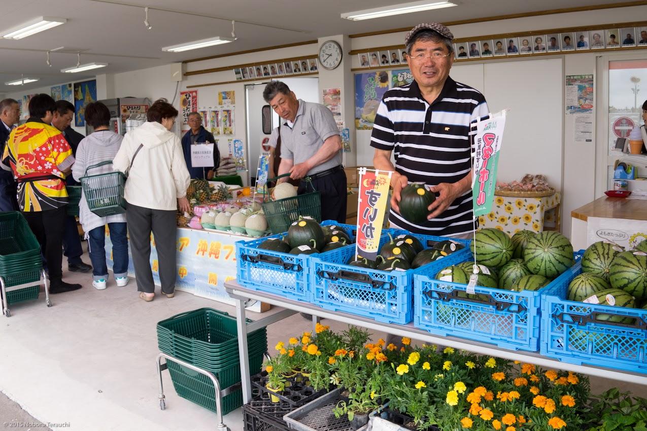 佐野豊 町長「今年のスイカも美味しそう」