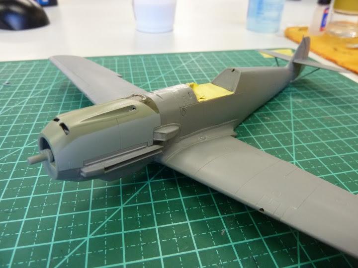 Bf-109 E-3 Tamiya 1/48 - Reforma pintura P1020439