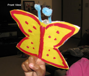 Flapping Wings Egg carton Butterfly