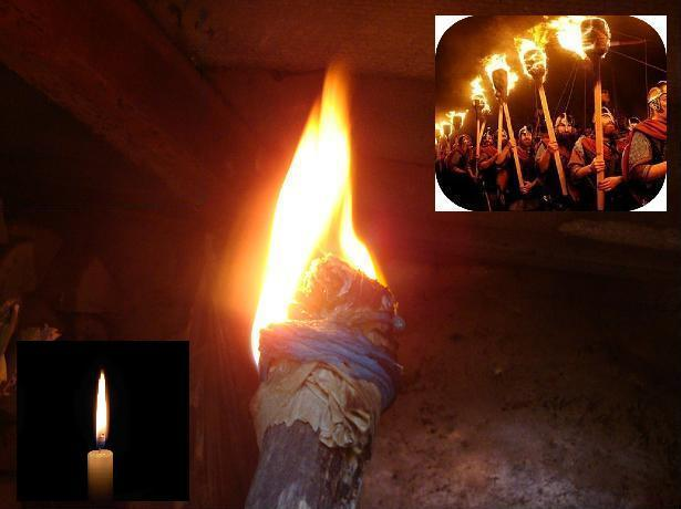 огонь факел