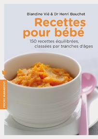 livre recettes pour bébé
