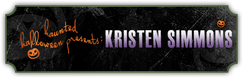 Haunted Halloween with Kristen Simmons and a giveaway!