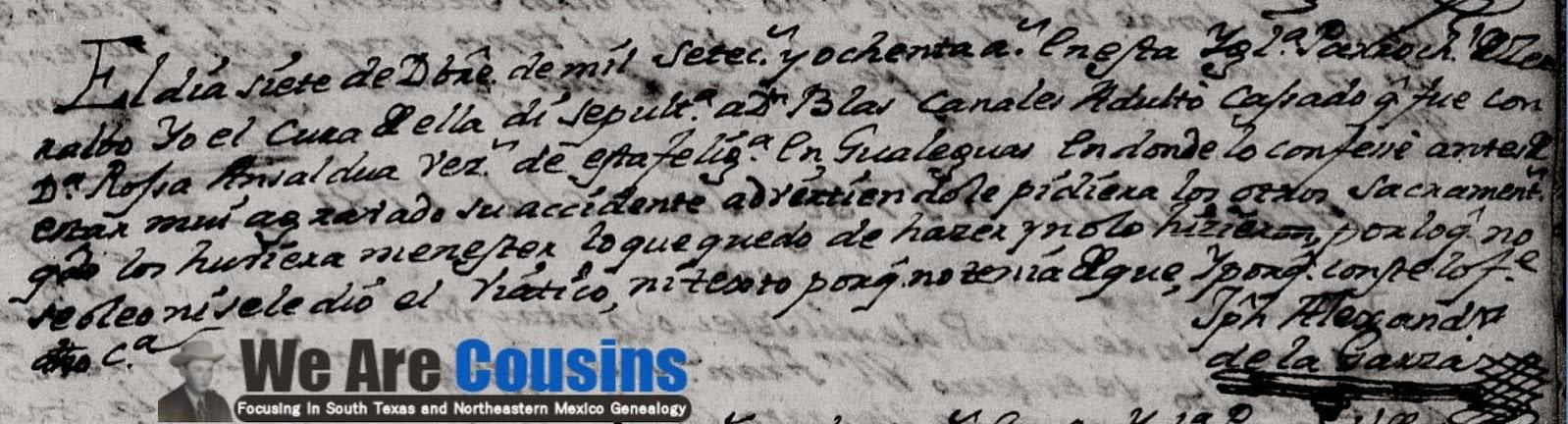 Blas Canales FamilySearch, Cerralvo, 1780 Death Pg. 30