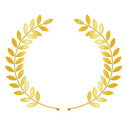 Gold Png Vector Gold Wreath Vector Png