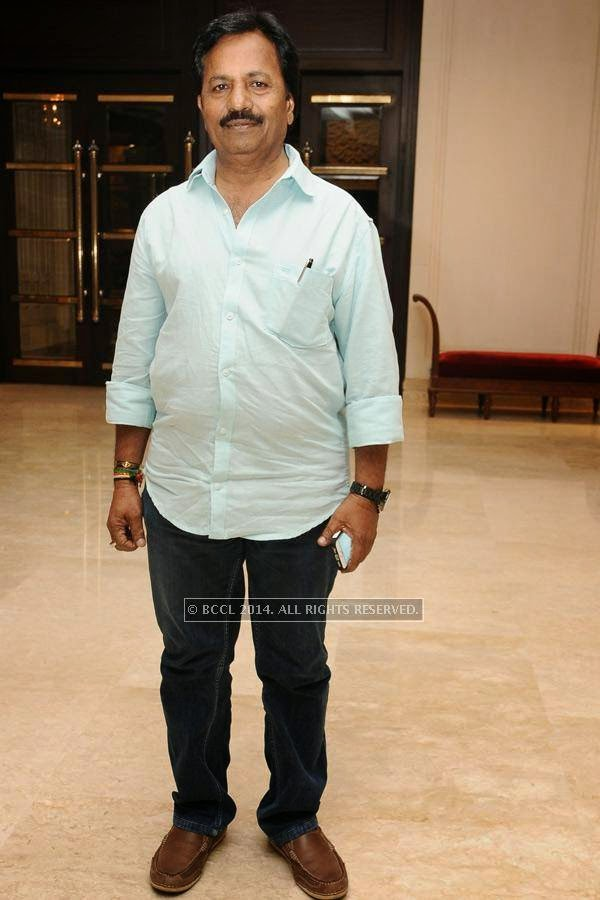 A.M Rathnam during the birthday celebration, held at The Leela Palace, in Chennai.