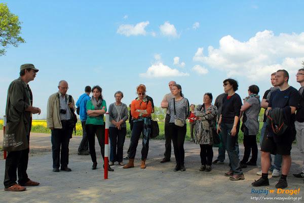 Uczestnicy wycieczki po Fiszewie