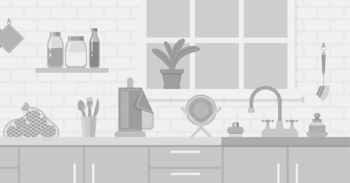 animated cartoon kitchen