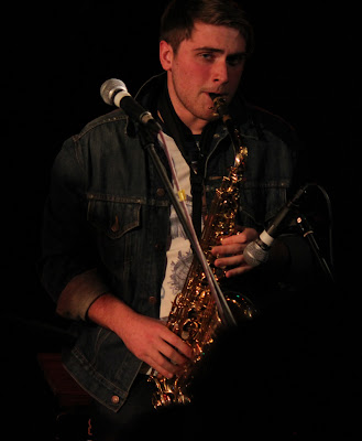 sam playing sax