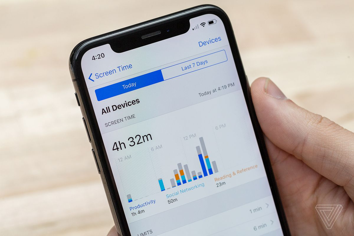 How to use Apple's new Screen Time and App Limits features in iOS 12 - The  Verge