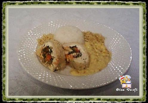 Roulade de frango com castanha do Pará 2