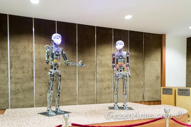 bilim merkezindeki robot tiyatrosu, Gaziantep
