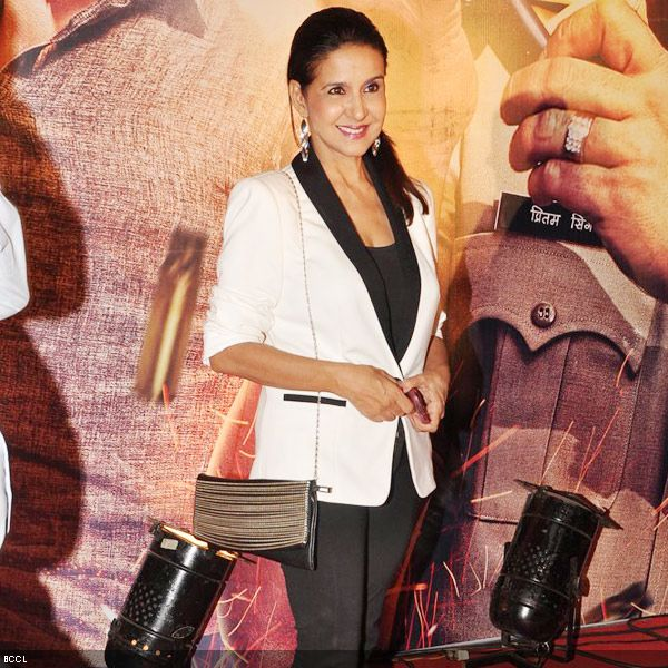 Melodious singer Sharon Prabhakar arrives at the premiere of the movie 'Zila Ghaziabad', held at PVR Cinema in Mumbai, on February 21, 2013. (Pic: Viral Bhayani)