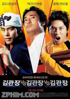 Tam Đại Sư Phụ - Three Kims (2007) Poster