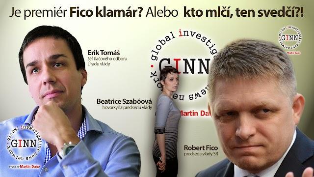 Robert Fico, Beatrice Szaboova, Erik Tomáš