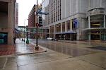 Downtown Minneapolis - am Sonntag doch etwas menschenleerer als gedacht, aber nicht so extrem wie 2012 bspw. in Jacksonville, FL