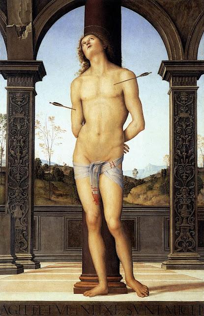 Pietro Perugino - St Sebastian