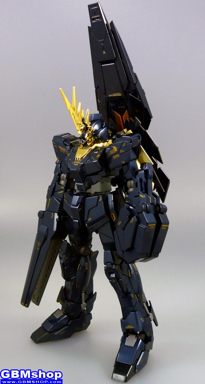 Gundam Fix Figuration METAL COMPOSITE #1011 RX-0 Unicorn Gundam 02 Banshee + Bandai 1/100 MG RX-0[N] Unicorn Gundam 02 Banshee Norn Full Armed Banshee