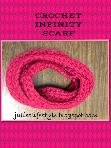 Cluster V-Stitch Scarf – Free Crochet Pattern on One Skein
