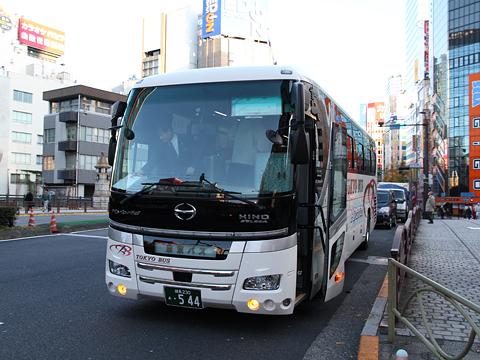 東京バス 日野セレガハイブリッド 544 秋葉原にて