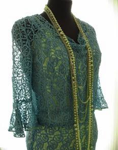 Outdoor garment of art deco period
