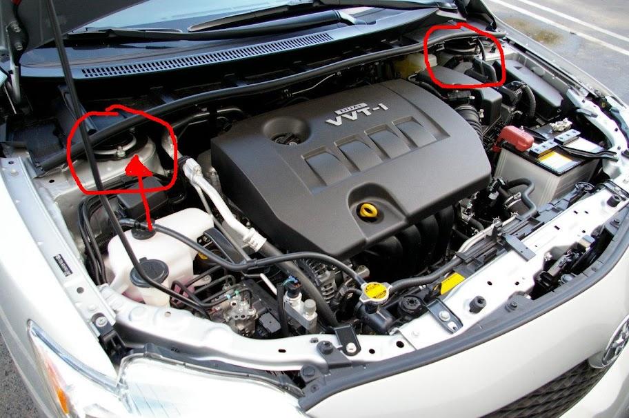 Ag Corollaxle Engine on 09 Toyota Matrix Engine